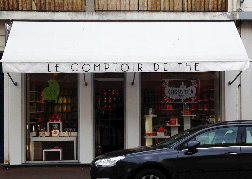 Marquage textile lambrequin le comptoir de th lorient - Comptoir irlandais lorient ...